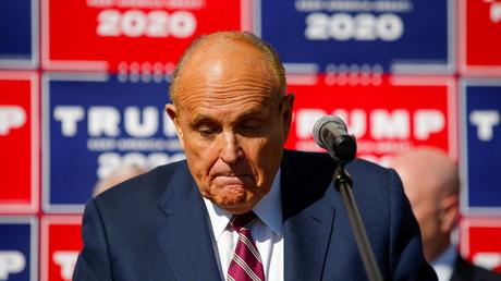 L'ancien avocat du président américain Donald Trump, Rudolph Giuliani.