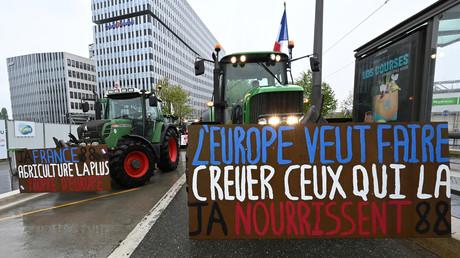 Les agriculteurs sont en colère contre une prochaine réforme voulue par l'UE.
