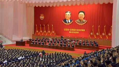 Cliché pris à Pyongyang le 29 avril 2021 (image d'illustration).