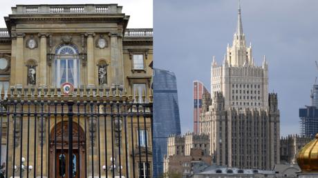Les ministères français et russe des Affaires étrangères (image d'illustration).