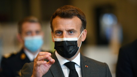 Emmanuel Macron, le 6 mai à Paris (image d'illustration).