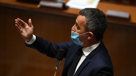 Le ministre de l'Intérieur Gérald Darmanin.