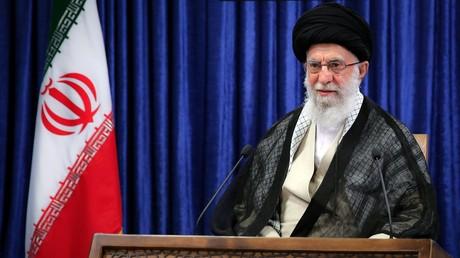 Le guide suprême iranien,  Ali Khamenei.