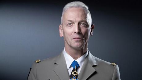 Le chef d'état-major des armées François Lecointre à l'occasion d'un séance de photographie à Paris le 27 avril 2021 (image d'illustration).