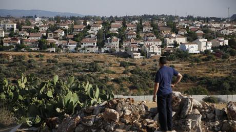 La colonie israélienne de Hashmonaim, à l'ouest de Ramallah, en Cisjordanie occupée par Israël,  le 19 juin 2017 (image d'illustration).