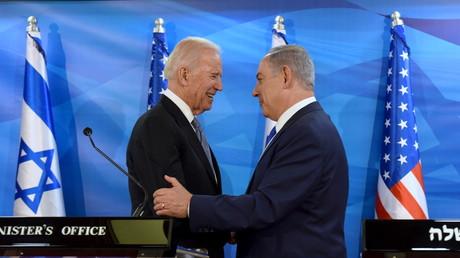 Joe Biden et Benjamin Netanyahou en 2016 à Jérusalem (illustration).