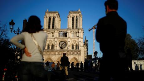 Cliché pris à Paris le 15 avril 2020 (image d'illustration).