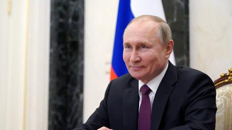 Le président russe Vladimir Poutine à Moscou, en Russie, le 25 mars 2021.
