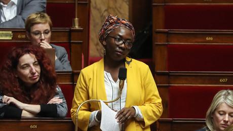 Danièle Obono à l'Assemblée nationale, le 3 mars 2020 (image d'illustration).