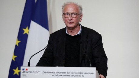 Alain Fischer, le «Monsieur vaccin» du gouvernement, à Paris,  le 3 décembre 2020 (image d'illustration)