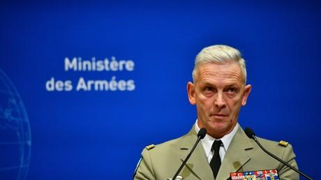 Le général Lecointre lors d'une conférence de presse, à Paris, le 26 novembre 2019 (image d'illustration).