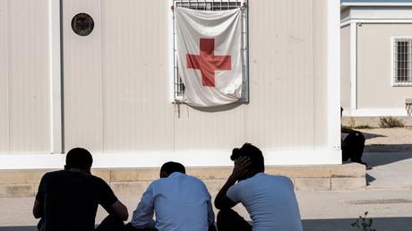 Des réfugiés syriens au centre d'accueil éphémère de Kokkinotrimithia, à 20 kilomètres de Nicosie, capitale de Chypre, en novembre 2019 (image d'illustration).