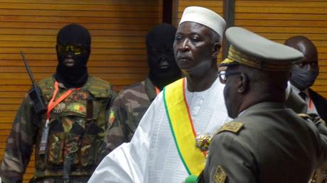 Le président par intérim du Mali Bah Ndaw à Bamako, le 25 septembre 2020 (illustration).