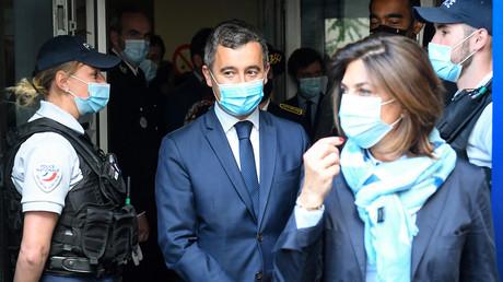Gérald Darmin, ministre de l'Intérieur, lors de son déplacement à Marseille le 24 mai 2021 (image d'illustration).