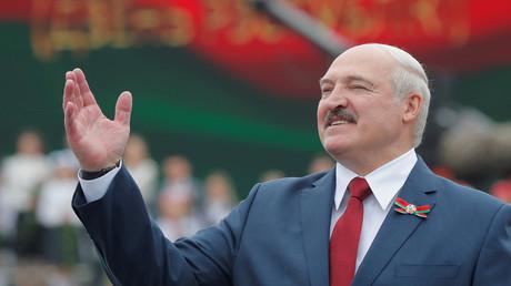 Le président biélorusse Alexandre Loukachenko le 3 juillet 2020 à Minsk (image d'illustration).