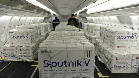 Doses de vaccin Spoutnik V à destination de l'Argentine (image d'illustration).
