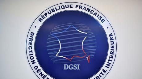 L'emblème de la Direction générale de la sécurité intérieure, à Paris le 31 août 2020 (image d'illustration).