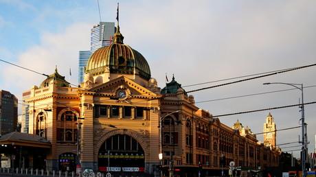 La gare de Flinders street dans le centre-ville de Melbourne (image d'illustration).