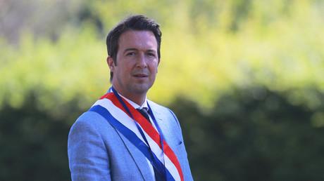 Le vice-président de Les Républicains Guillaume Peltier le 22 juillet 2020 au château de Chambord (Loir-et-Cher).