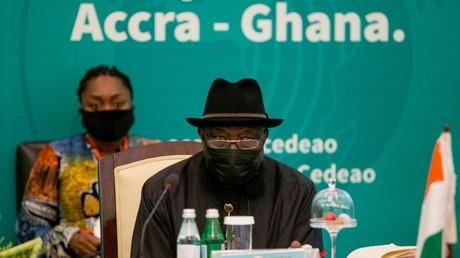 Cliché pris lors du sommet de la Cédéao sur la situation au Mali, le 30 mai 2021 à Accra, au Ghana (image d'illustration).