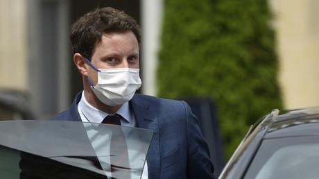 Le secrétaire d'État français aux Affaires européennes Clément Beaune à l'Élysée à Paris le 26 mai 2021 (image d'illustration).