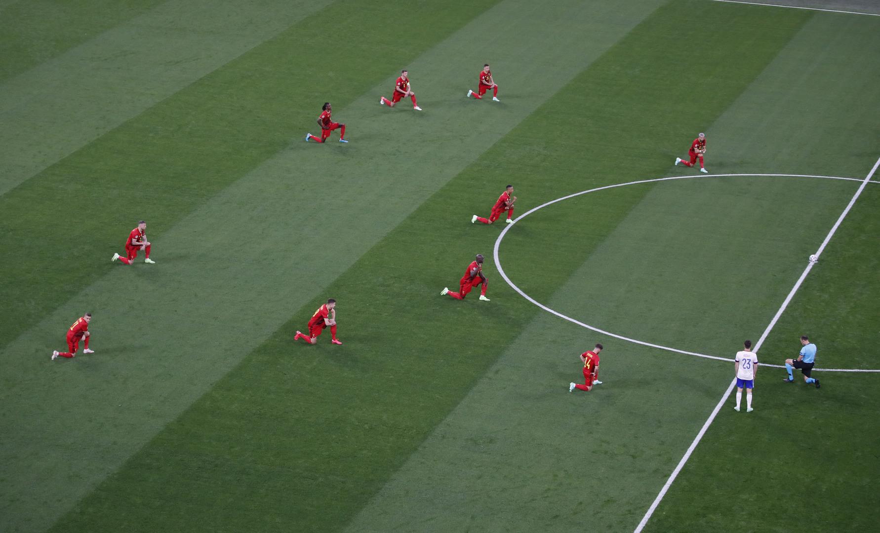 Euro 2020 : quelles sont les équipes qui ont mis le genou à terre ?