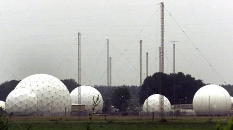 Des installations servant au programme Echelon, à Bad Aibling, en Allemagne, le 3 juin 2001 (image d'illustration).