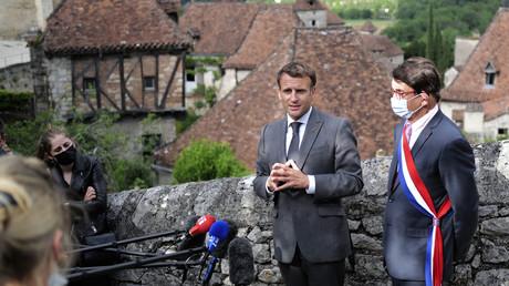 Emmanuel Macron a débuté son tour de France dans le Lot le 2 juin.