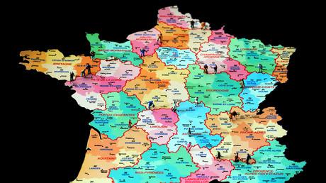 Avant une loi territoriale de 2015, il y avait 22 régions en France (image d'illustration)