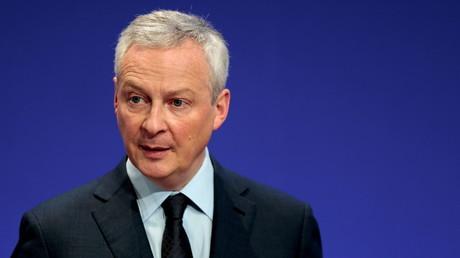 Le ministre de l'Économie et des Finances Bruno Le Maire à Paris, le 8 avril 2021 (image d'illustration).