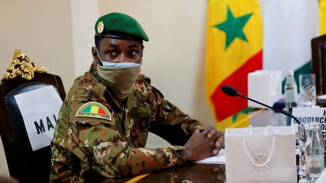 Le colonel Assimi Goïta, chef de l'armée malienne à Accra, au Ghana, le 15 septembre 2020 (image d'illustration).