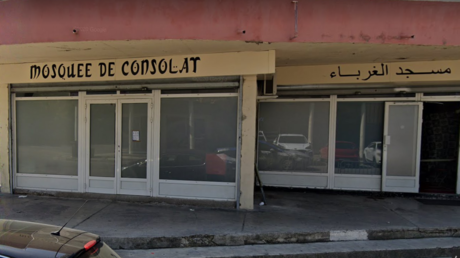 Mosquée du quartier de Consolat à Marseille.