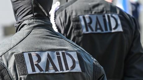Des membres de l'unité d'élite de la police nationale française (le RAID) à Lille (Nord), le 30 avril 2021 (image d'illustration).