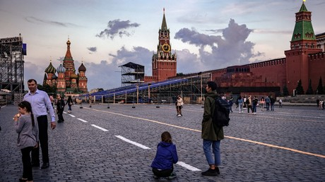 La place Rouge à Moscou  le 7 juin 2021 (image d'illustration).