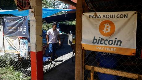 On peut payer en bitcoin, dans ce petit restaurant de la côte Pacifique-Nord du Salvador (photo d'illustration prise le 8 juin 2021).