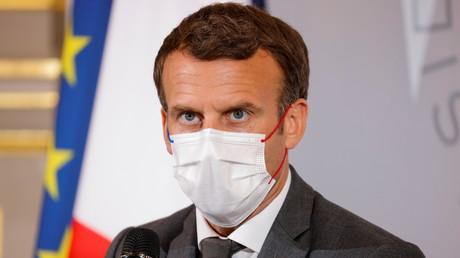 Emmanuel Macron à l'Elysée, à Paris, le 9 juin 2021.