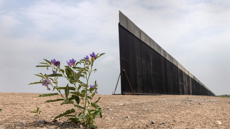 Le mur à la frontière mexicaine est toujours inachevé (image d'illustration).