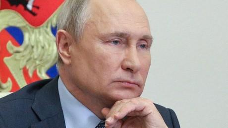 Vladimir Poutine le 8 juin 2021 (image d'illustration).
