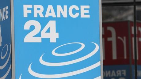 Le logo de la chaîne France 24 (image d'illustration).