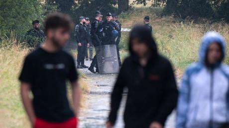 Des tensions ont eu lieu entre les jeunes et les forces de l'ordre à Redon (image d'illustration).