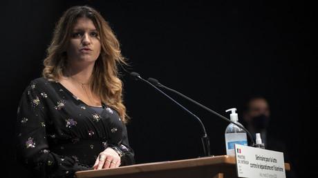 Marlène Schiappa le 27 octobre 2020 à Albi (image d'illustration).