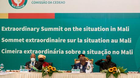 Sommet extraordinaire de la Cédéao sur la situation au Mali, à Accra, au Ghana, le 30 mai 2021 (illustration).