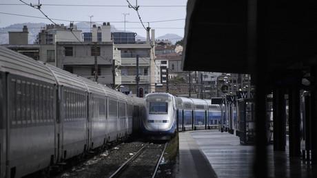 Un TGV entre en gare de Marseille, août 2018 (image d'illustration).