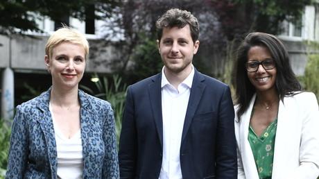 Trois candidats du premier tour des élections régionales en Ile-de-France, Clémentine Autain (LFI), Julien Bayou (EE-LV) et Audrey Pulvar (PS), annoncent mener une liste commune pour le second tour le 21 juin 2021 à Paris.