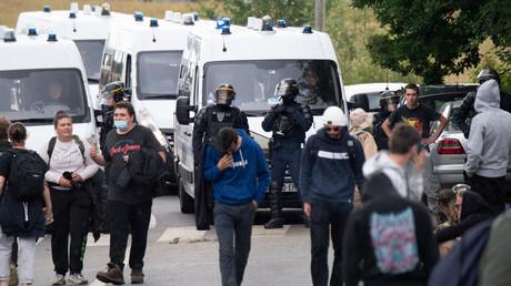 L'intervention des forces de l'ordre les 18 et 19 juin à Redon fait polémique (image d'illustration du 19 juin).
