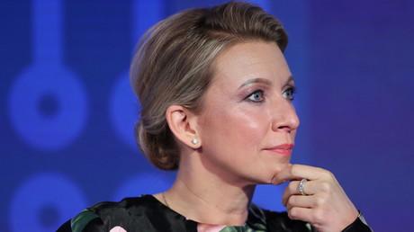 La porte-parole du ministère russe des Affaires étrangères Maria Zakharova à Saint-Pétersbourg, en Russie, le 3 juin 2021 (image d'illustration).