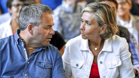 La présidente de la région Ile-de-France Valérie Pécresse et son homologue des Hauts-de-France Xavier Bertrand au Touquet, le 27 août 2017 (image d'illustration).