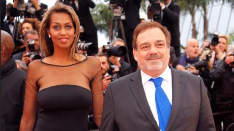 Didier Bourdon et son épouse au festival de Cannes, mai 2019 (image d'illustration).