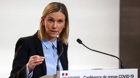Agnès Pannier-Runacher en conférence de presse à Paris, 7 janvier 2021 (image d'illustration).