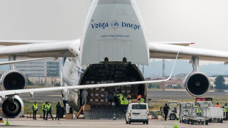 La Russie envoie deux avions d'aide humanitaire à Cuba, dont un million de masques